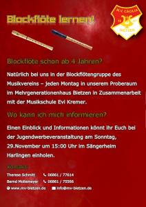 Jugendwerbung Flyer 20152